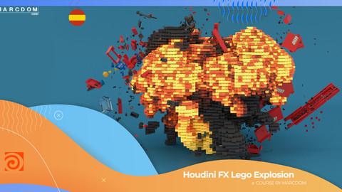 Houdini FX Explosion de Lego ESP