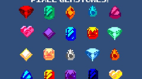 PIXEL ART JEWELRY COLLECTION