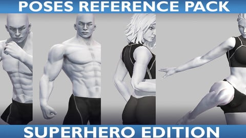 Poses Reference Vol. 01