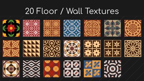 20 Floor / Wall Textures