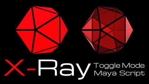 X-Ray Advanced | Toggle Maya Script