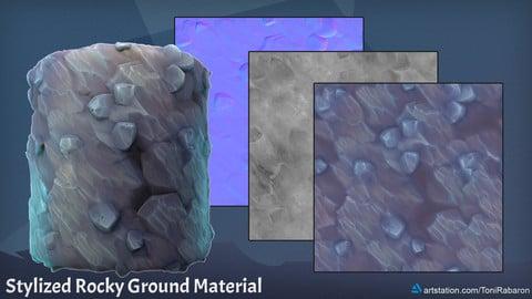Stylized Rocky Ground Material