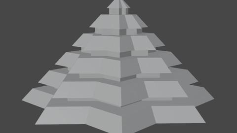 Pyramidal Structure 8 Corners