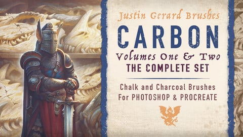 CARBON Brushes COMPLETE SET for Photoshop and Procreate