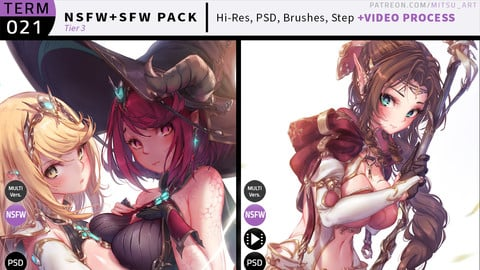 Patreon Term 021 Reward Pack