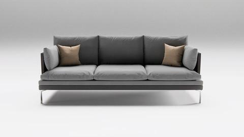 """Sofa 3D-Model """"Willi"""""""