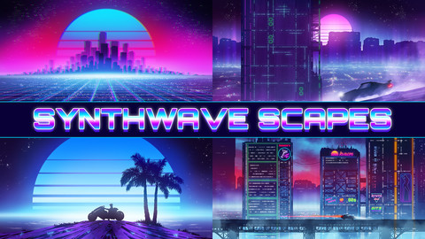 Synthwave Scapes