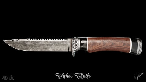 Fisher Knife by mkaplunow
