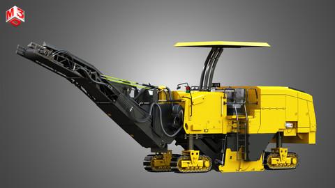 PM 622 Cold-Planer - Asphalt Removal 3D model