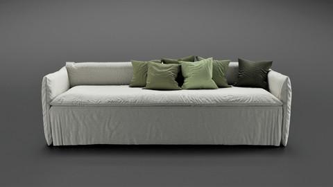 Cozy Sofa 3D-Model