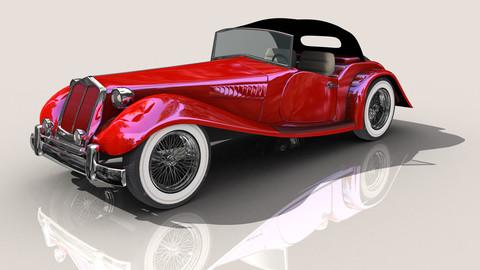 Hot Rod Car Set 1.