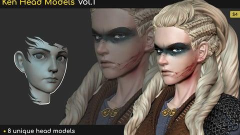 Ken Head Models Vol.1