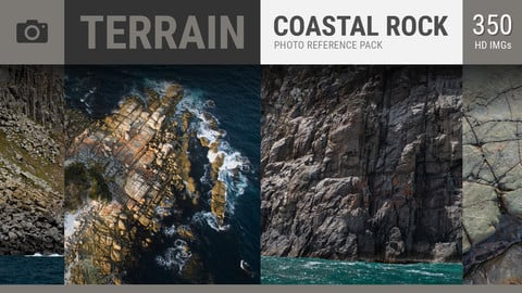 COASTAL ROCK Photo Reference Pack