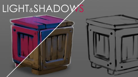 Drawing Light & Shadows with masks