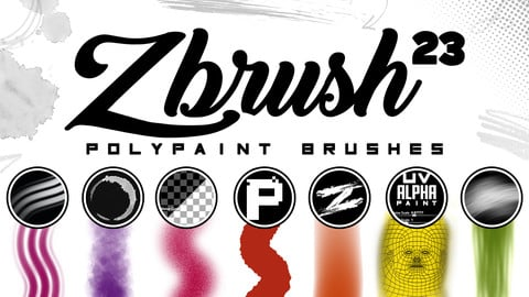 ZBrush Polypaint Brushes II