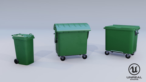 Urban Recylcing Container