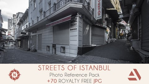 Photo Reference Pack: Streets of Istanbul