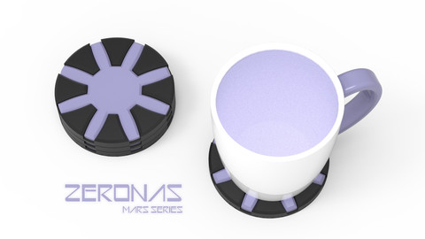 ZERONAS - 3D PRINTABLE COASTER