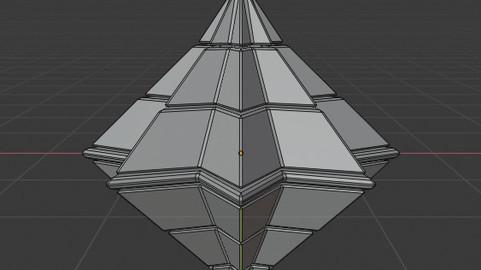 Symetric Pyramidal Structure