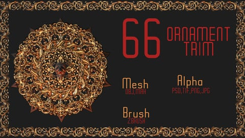 66 Ornament trim