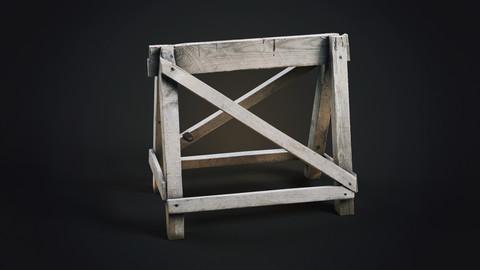 Wood baricade