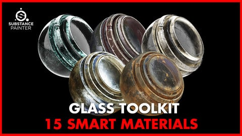 Glass Smart Material Toolkit Vol.1