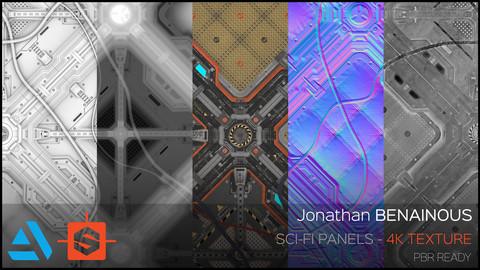 Texture - Sci-Fi Panels