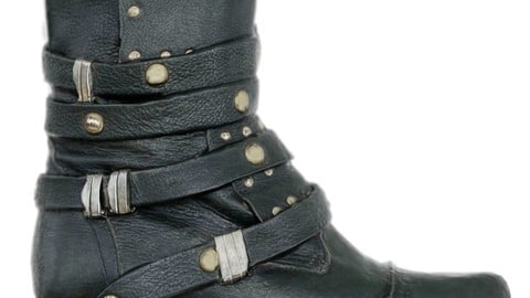 Vintage Boot Gothic