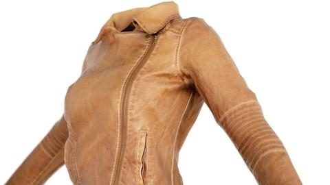 Vintage Jacket Brown Leather