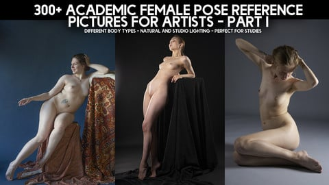 300+ Academic Female Pose Reference Pictures for Artists