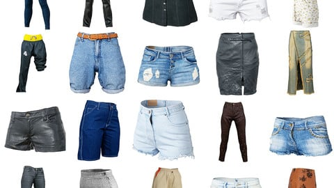 20 Vintage Clothing Bottoms