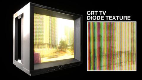 CRT TV Diode Texture