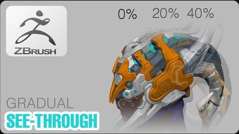 Gradual see-through MACRO 0%/20/40%