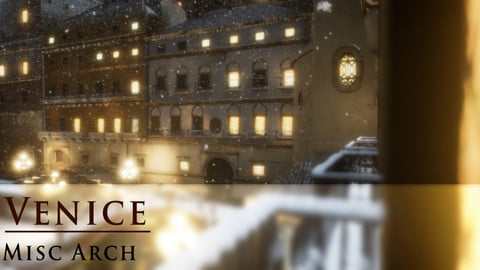 3D-Scanned Venice & North of Italy Assets - Misc Arch Only