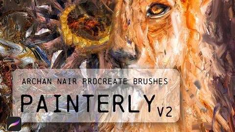 Painterly v2 Brushes for Procreate