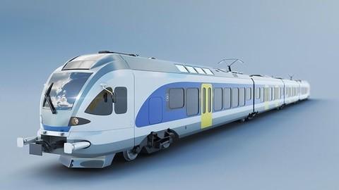 Stadler FLIRT 415 train 3D model