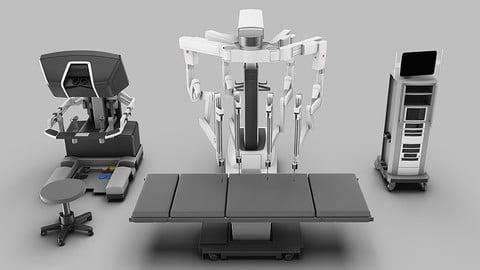 Surgical System da Vinci Xi model 3D model
