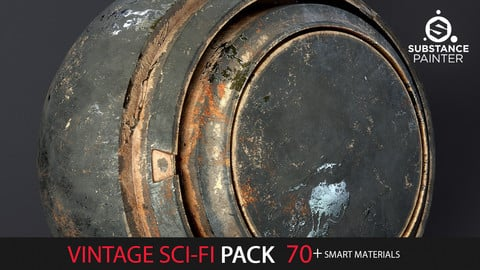 Vintage Sci-Fi Pack  70+ Smart Materials