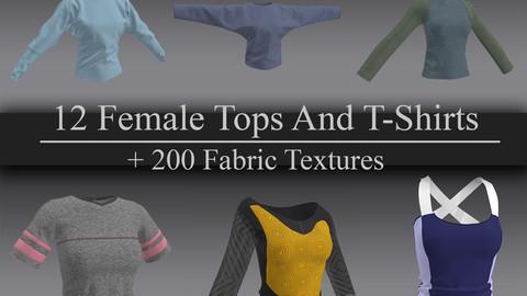 12 Women Tops and Tshirt