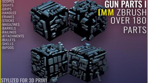 GUN IMM Part 1 - Zbrush 2020.1.1