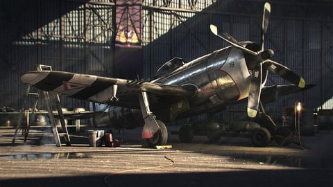 P-47D Thuderbolt | Fully modeled and textured