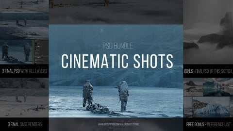 CINEMATIC SHOTS - PSD (Bundle)