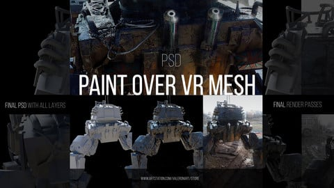 PAINT OVER VR MESH