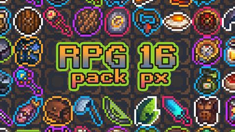 16x16 RPG Asset Pack