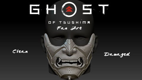 Sakai Mask Ghost of Tsushima Mask