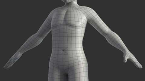 Stylized Male Base Model