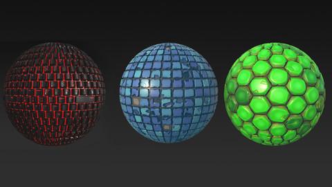 3 Free Procedural Textures