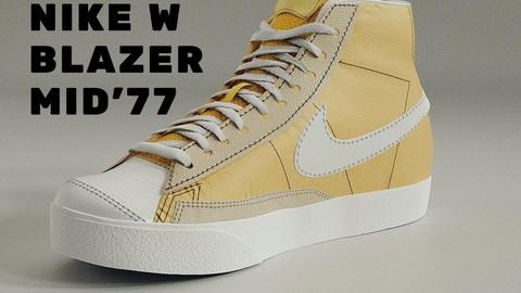 Nike W Blazer Mid 77 - Bicycle Yellow