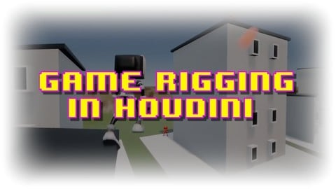 Houdini Game Character Rigging and Unreal Engine, creating export friendly rigs for UE4