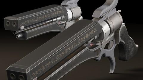 Magnum hand cannon